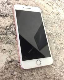 Iphone 7 plus rose completo 128 gb