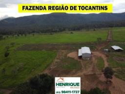 Fazenda Espetacular, localizada na região nobre do Tocantins