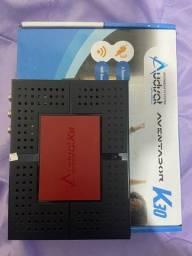 Receptor satélite e cabo Net