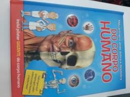 Título do anúncio: Meu Primeiro Atlas Dobra e Desdobra do Corpo Humano - Inclui Pôster<br><br>