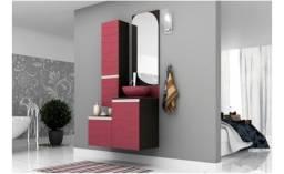Gabinete Para Banheiro Marsala 90cm Mazzu