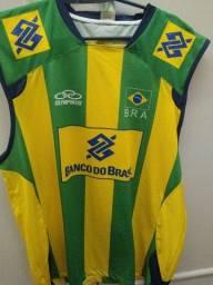 Camisa Seleção Brasileira de Volei