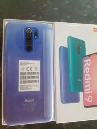 Redmi 9 32 GB  lacrado 4 câmeras traseiras  leitor biométrico