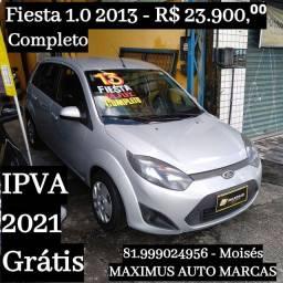 Fiesta 1.0 Hatch 2013 Completo