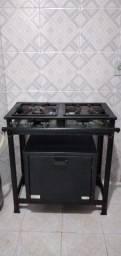 Fogão industrial cemaf 02 Bocas com forno