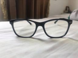 Óculos com filtro azul.