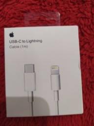 Cabo para carregador tipo C para iPhone 11 e 12