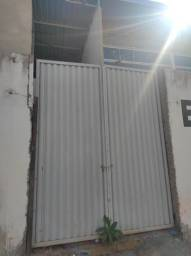 Título do anúncio: Portal de aço fechado 2 folhas