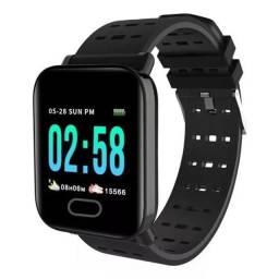 Relogio Smart Watch Bluetooth (SH-A6) - Preto
