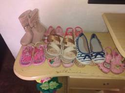 Sandálias infantil menina