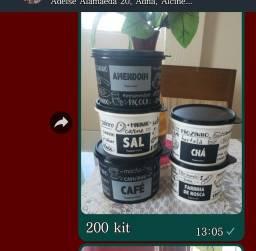 Título do anúncio: Lindo kit Tupperware