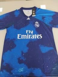Camisa Stellar do Real Madrid e do Flamengo