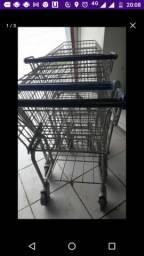 Vendo carrinho de supermercado