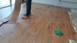 Instalador de pisos Vinílicos  laminados carpetes e grama sinteticas