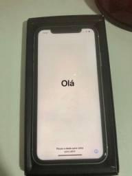 Vendo ou Troco Iphone X Preto 256gb bem conservado.