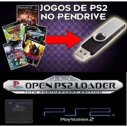 Título do anúncio: Pen Drive 64gb C/ 64jogos Ps2 + de 3000 de emuladores Leia....