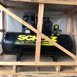 Compressor de Ar Pratic Air CSL 20 Monofásico - Schulz