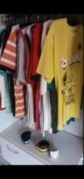 Vendo lote de roupas novas masculina e feminina