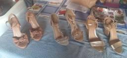 3 sandálias