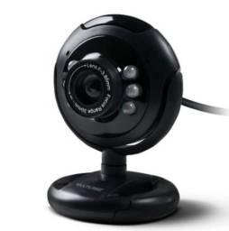 Webcam com microfone embutido - Multilaser
