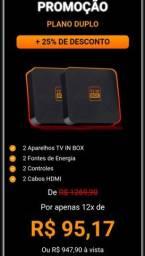 Aparelho Tv box alta qualidade