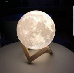 Belíssima Luminária Lua Nova com garantia