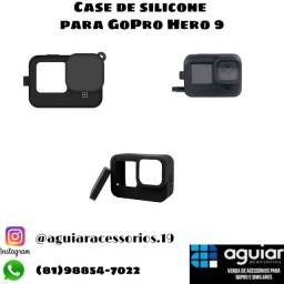 Case de silicone para GoPro Hero 9