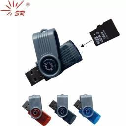 Adaptador Cartão de Memória USB 2 Micro SD