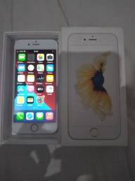 Iphone 6s Rose semi novo top 3mes de garantia