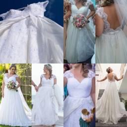 Vestido de noiva - Carol Hungria 2015