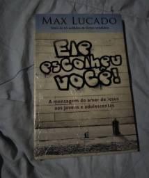 Livro Ele Escolheu Você- Max Lucado