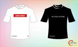 Camisetas modelos masculinos e Femininos. Moda Evangélica