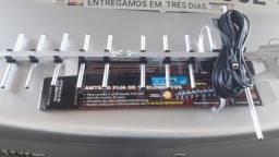 Antena Digital nova com cabo pra instalação