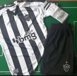 Uniforme completo do Atlético Mineiro infantil 2021