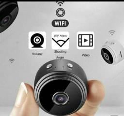 Mini câmera espiã wi-Fi A9 com visão noturna