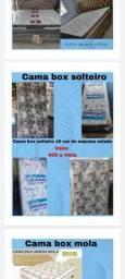 Cama box de 10 centímetros de solteiro