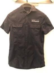 Camisa Armani preta