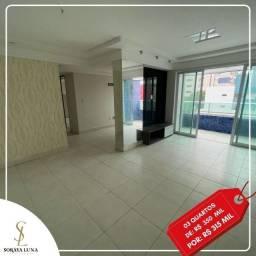 Apartamento para venda - 80 m² - 3 quartos s/ 2 suítes em Manaíra - João Pessoa - PB
