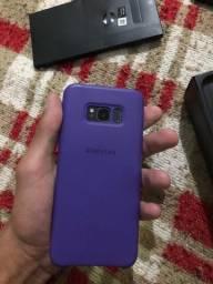 Vendo  ou troco Samsung s8 plus