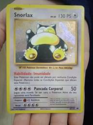 Cartas pokemon Snorlax promo