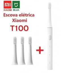 Escova de Dentes Elétrica Xiaomi Mijia T100 + 3 Refis Extras