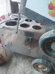 Vendo 2 carrinho de churrasco