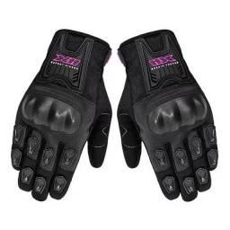 Luva X11 Blackout Feminina (C/ Proteção) - preto/rosa - somos loja, parcelamos