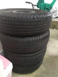 Jogo de pneus novos Creta 205/65/16
