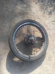Roda traseira Titan 125