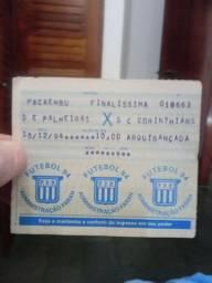 Coleção de ingressos