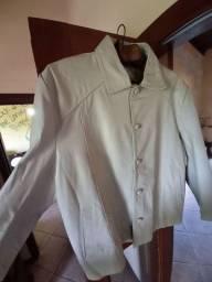 Título do anúncio: Jaqueta de couro natural. novíssima