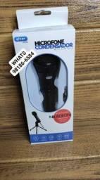 Microfone Condensador multimídia P2.