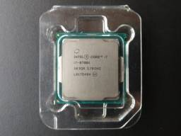 Processador Intel Core i7 8700K Coffee Lake, Cache 12MB, 3.7GHz (4.7GHz Max Turbo), 1151