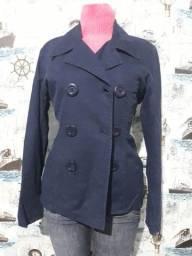 casaco sarja forrado tam M 25,00